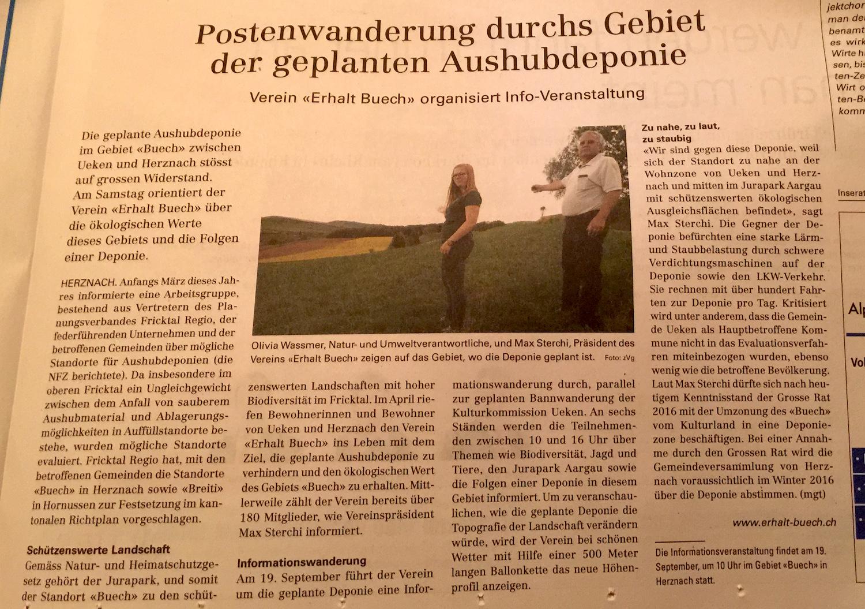 Neue-Fricktaler-Zeitung-Postenwanderung